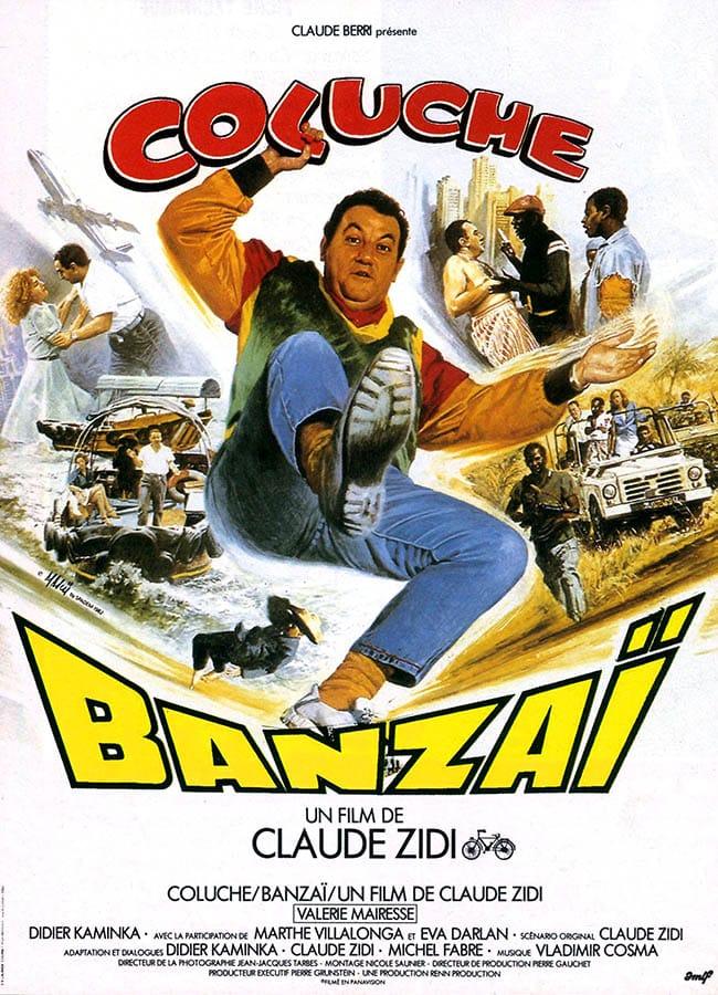Banzaï de Claude Zidi, l'affiche de Mascii