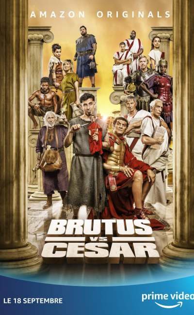 Brutus Vs César, affiche Cover Amazon