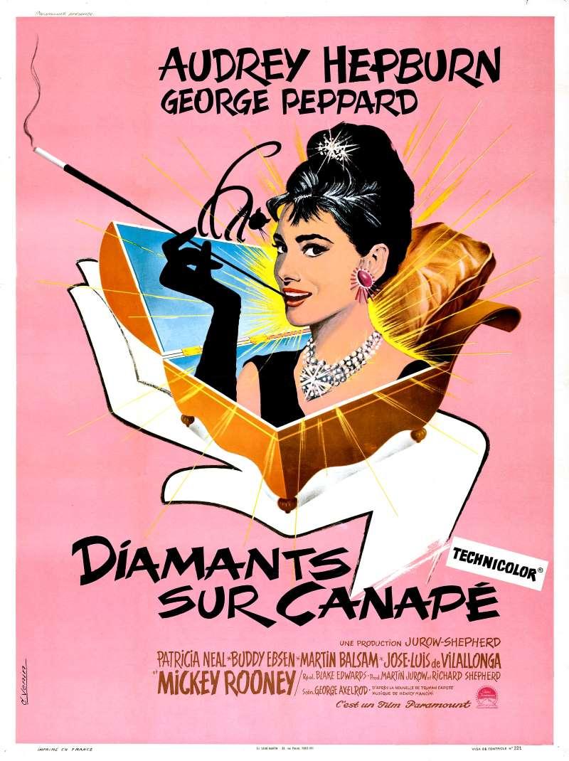 Diamants sur canapé, l'affiche