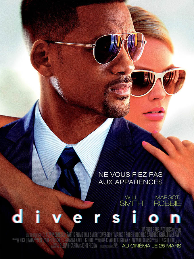 Diversion, affiche française, Will Smith