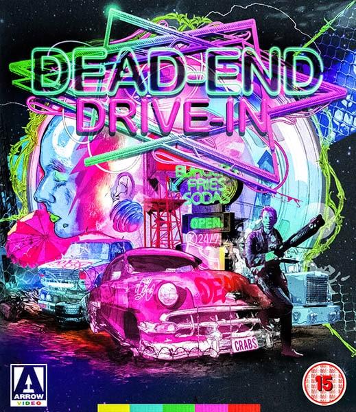 Le drive-in de l'enfer, jaquette Arrow Films exclusive à l'éditeur