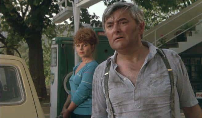 Cécile Vassort et Roger Carel dans L'été meurtrier de Jean Becker