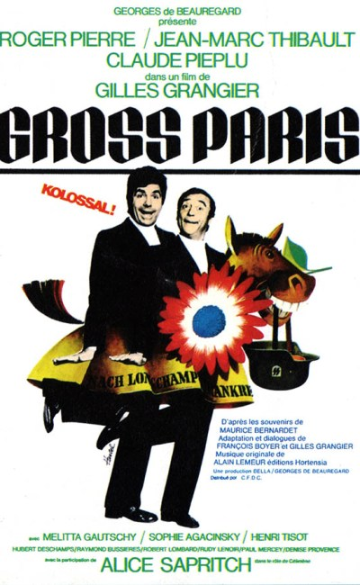 Gross Paris, affiche du film