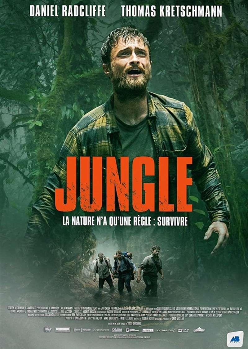 Jungle, la jaquette DVD