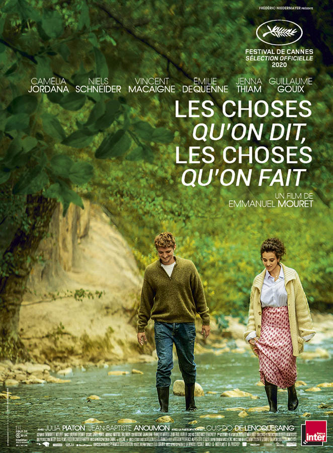 Les choses qu'on dit, les choses qu'on fait, affiche du film