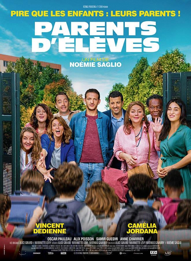 Parents d'élèves, affiche de Noémie Sagliou film de
