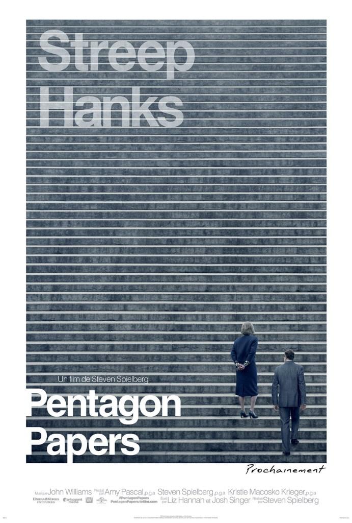 Affiche teaser de Pentagon Papers