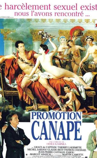 Promotion Canapé - affiche du film de Didier Kaminka