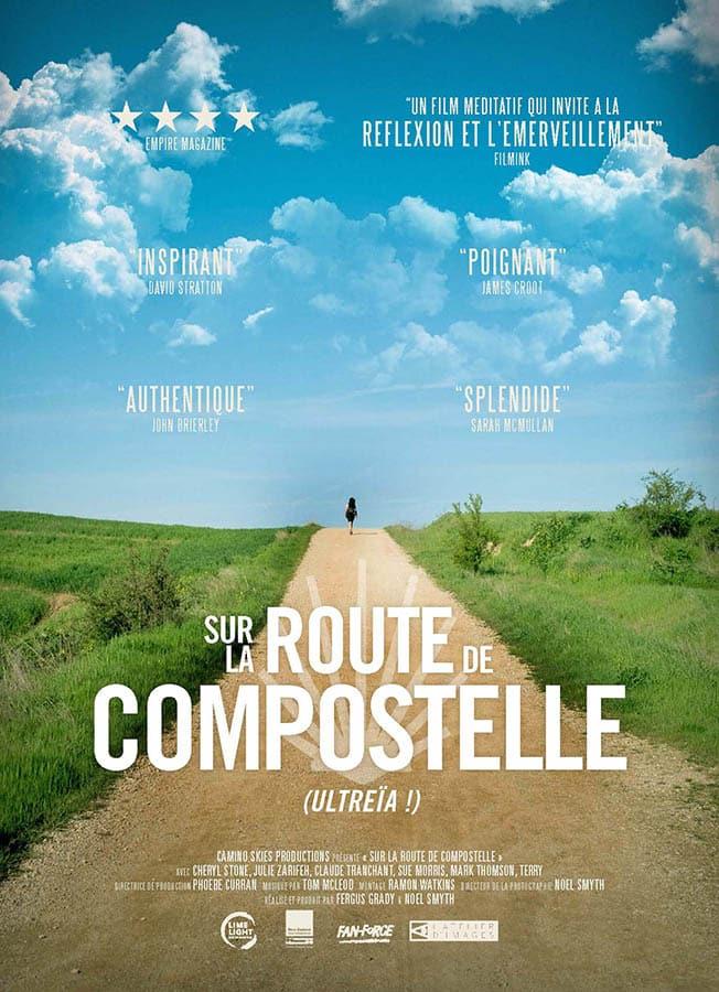 Sur la route de Compostelle, affiche du film