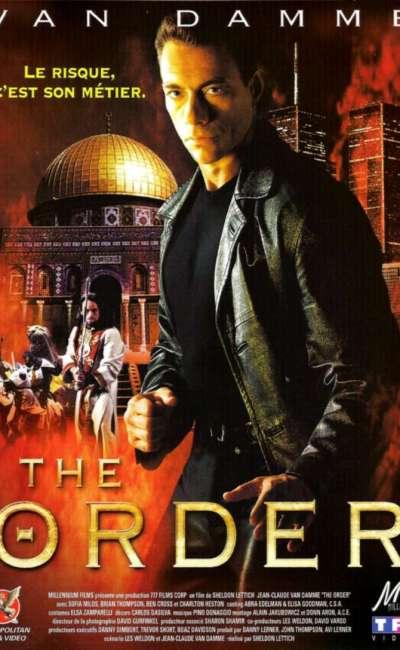 The Order, la jaquette DVD