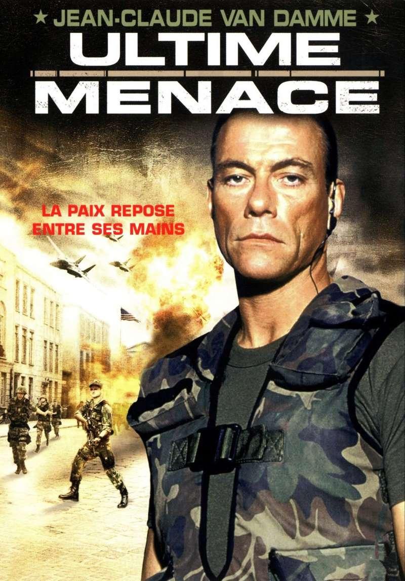 Ultime menace, la jaquette DVD