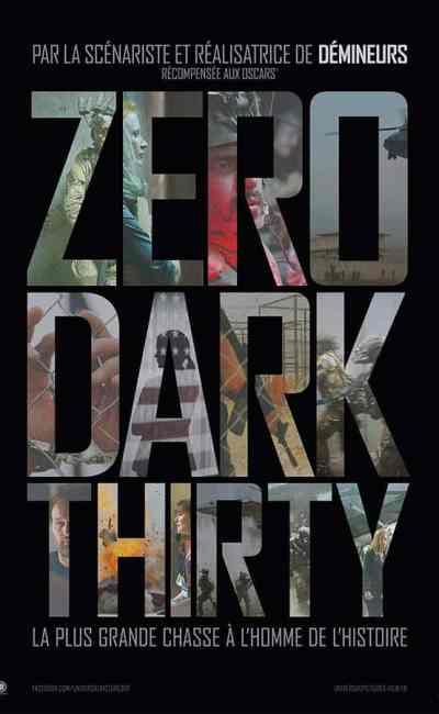 Zero Dark Thirty, affiche du film de Kathryn Bigelow