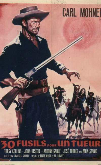 affiche du film 30 fusils pour un tueur