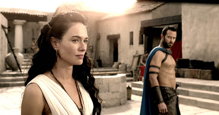 Lena Headey dans 300, la naissance d'un empire