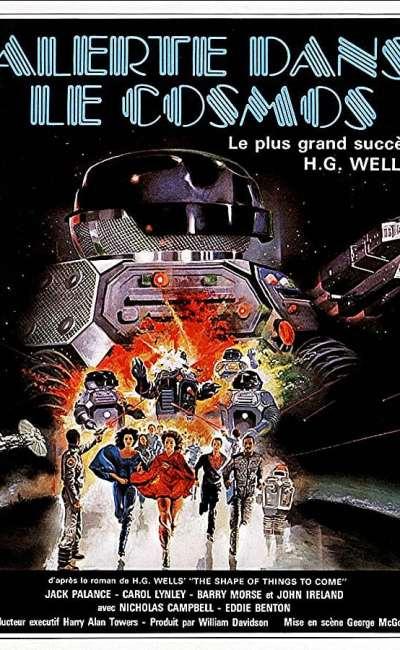 Alerte dans le cosmos, affiche française