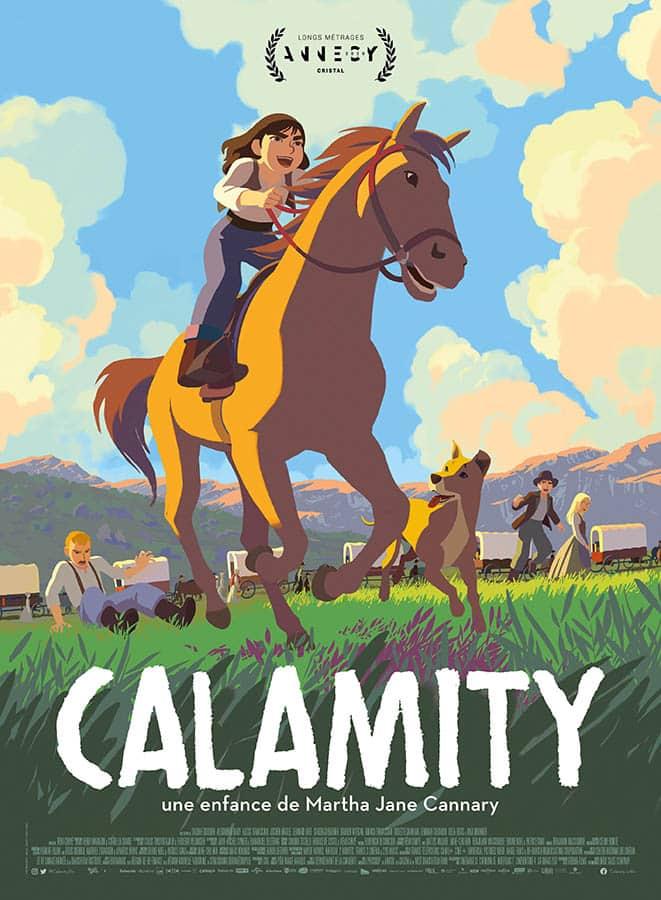 Calamity, affiche du film de Rémi Chayé