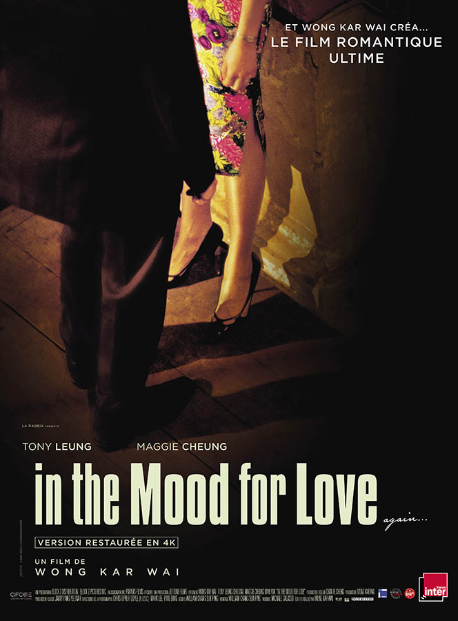 In the Mood for Love, affiche reprise 2020