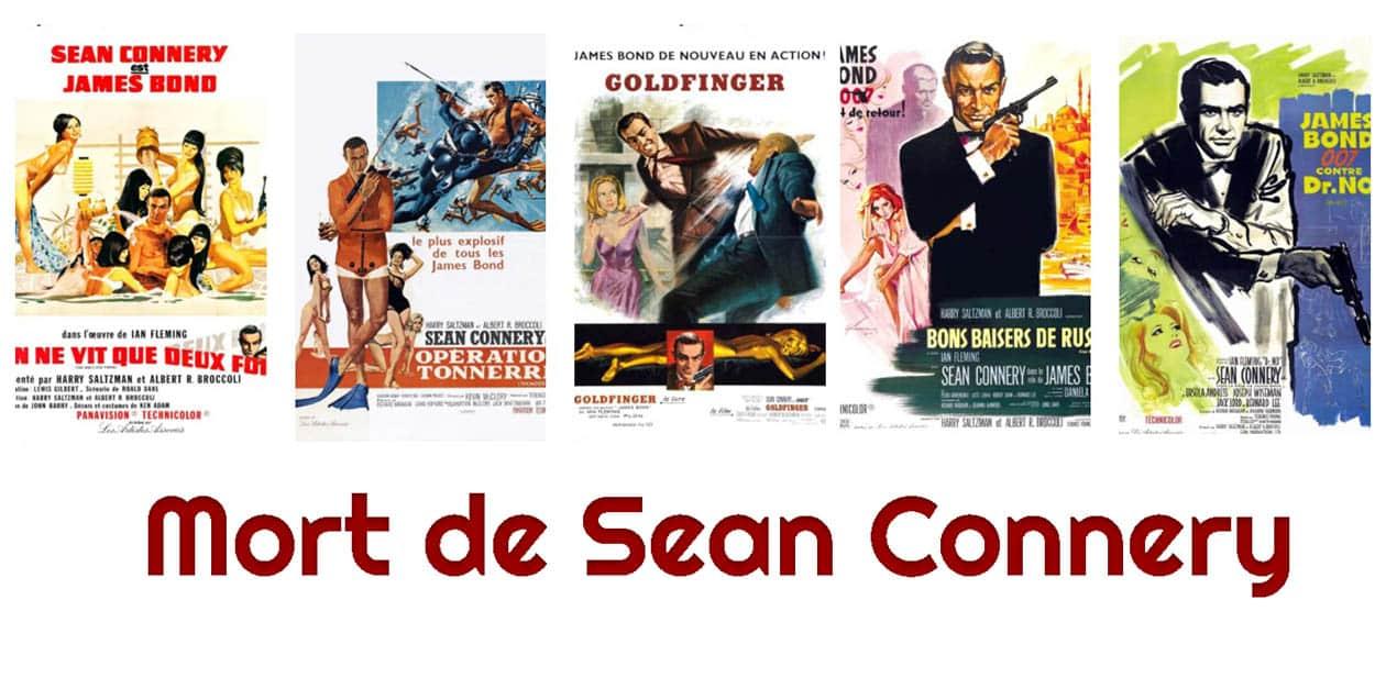 Mort de Sean Connery