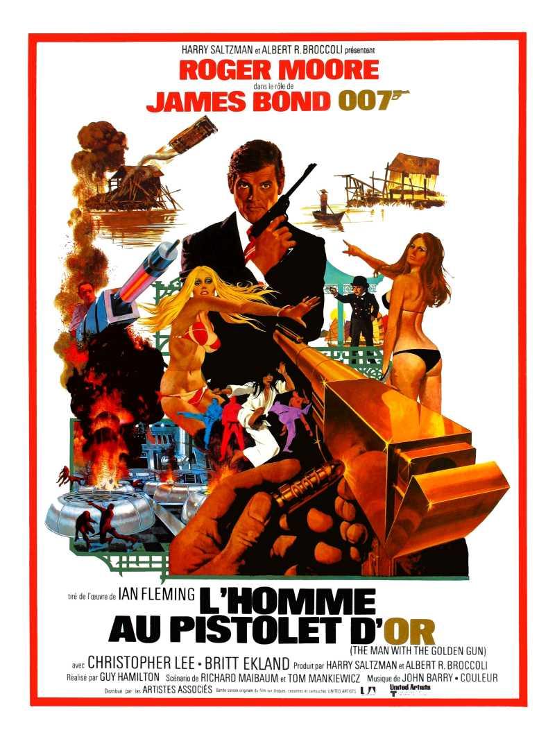 L'homme au pistolet d'or, l'affiche