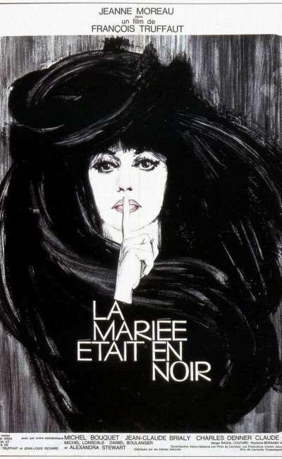 La mariée était en noir, l'affiche