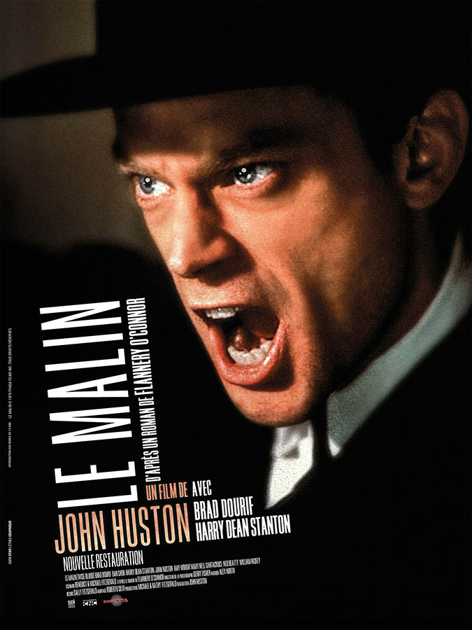 Le Malin de John Huston (1979), affiche reprise