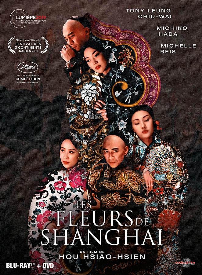 Les fleurs Shanghai de Hou Hsiao-hsien, jaquette