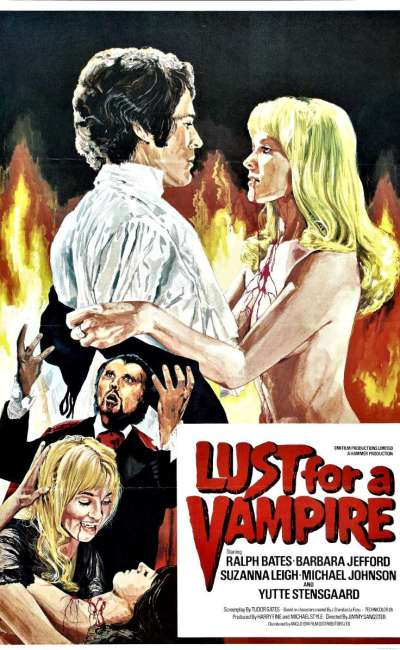 Lust for a vampire, l'affiche
