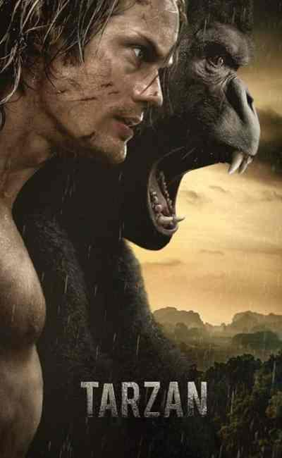 Tarzan, cover VOD