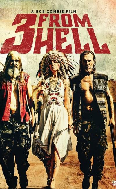 3 From Hell, jaquette DVD américain