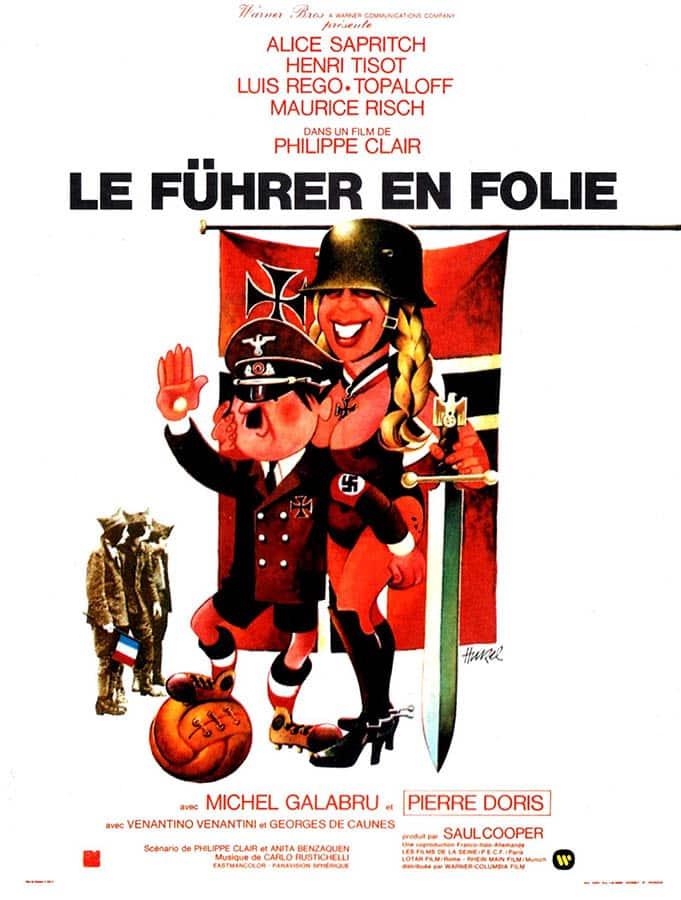 Le Führer en Folie, affiche du film