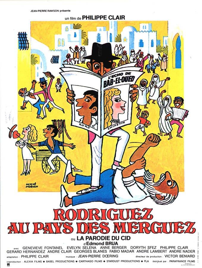 Rodriguez au pays des merguez de Philippe Clair