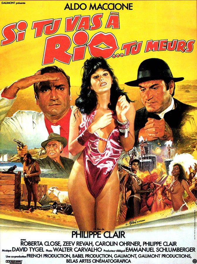 Si tu vas à Rio tu meurs, affiche de Mascii