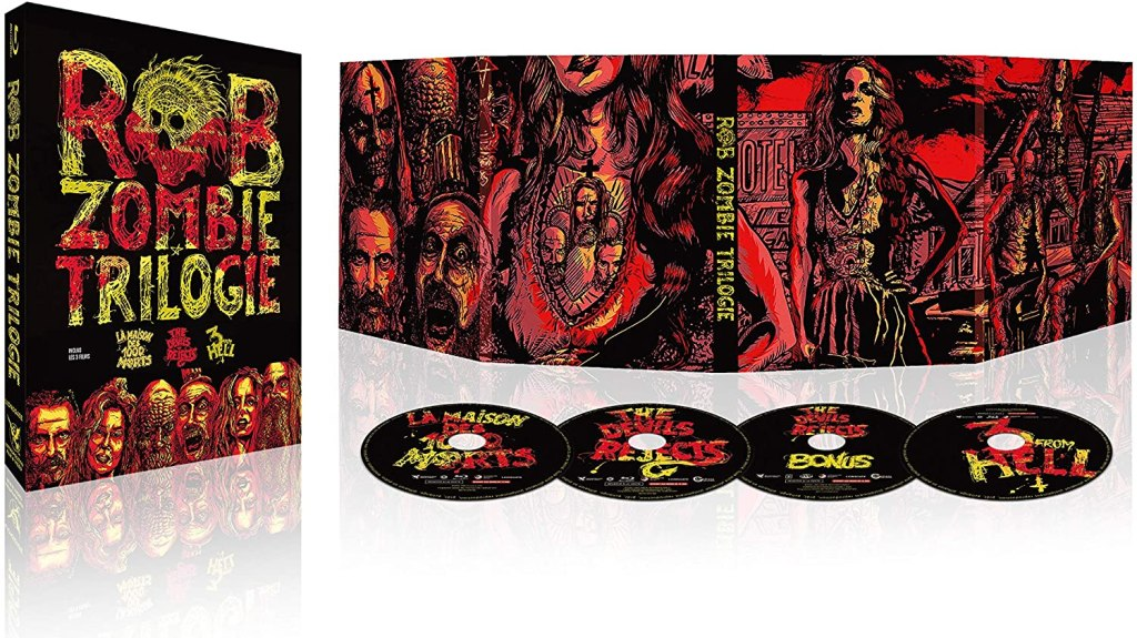 Une trilogie de Rob Zombie : La Maison des 1000 Morts + The Devil's Rejects + 3 from Hell