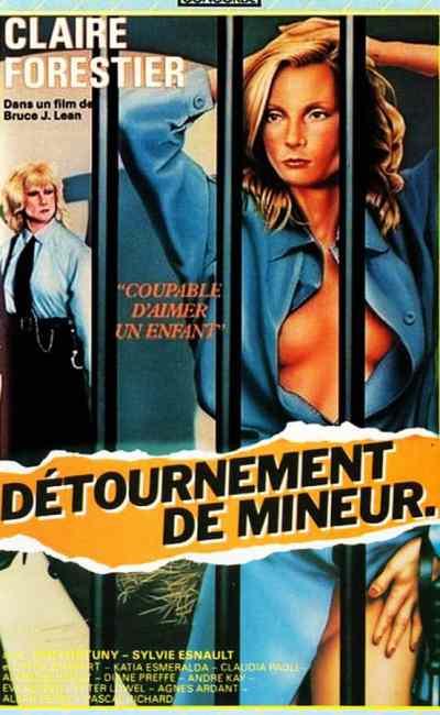 Détournement de mineur, jaquette VHS, Concorde