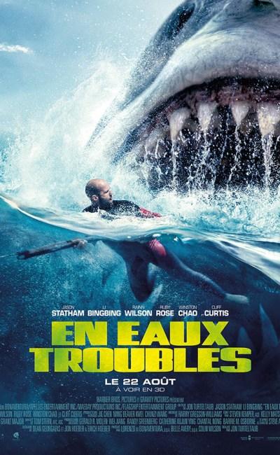 En eaux troubles (The Meg), affiche française