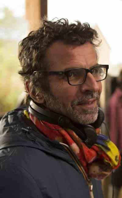 Eric Lartigau sur le tournage de La famille Bélier