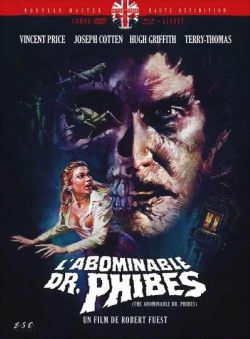 L'abominable docteur Phibes, la jaquette du Mediabook