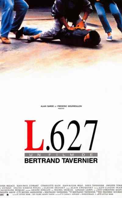 L.627, affiche du film de Bertrand Tavernier
