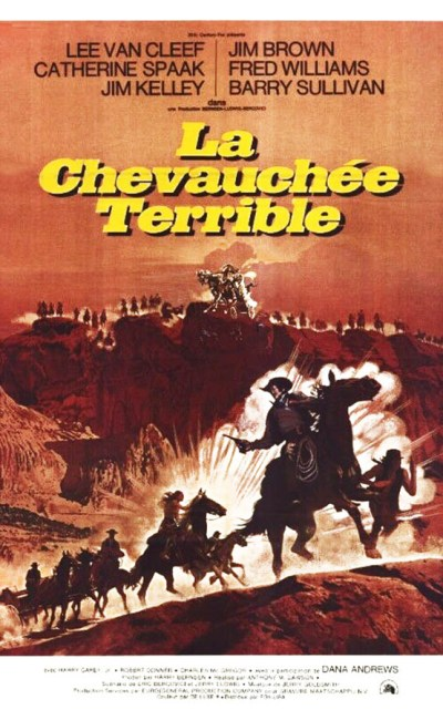 La chevauchée terrible (it's a hard take), affiche