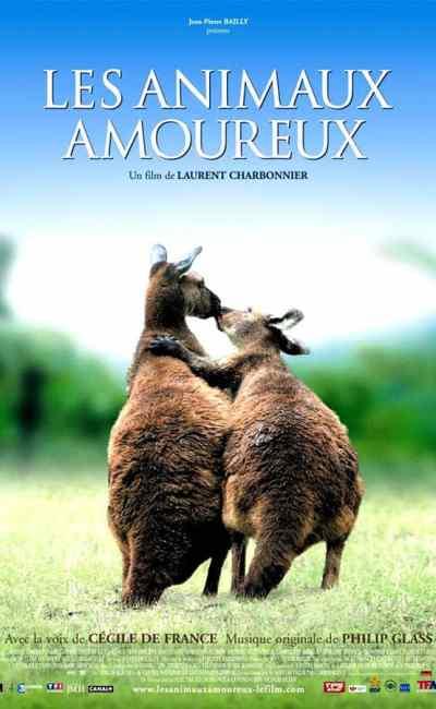 Les animaux amoureux : affiche du film
