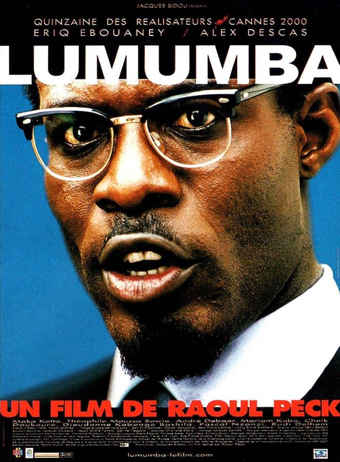 Lumumba, affiche du film de Raoul Peck