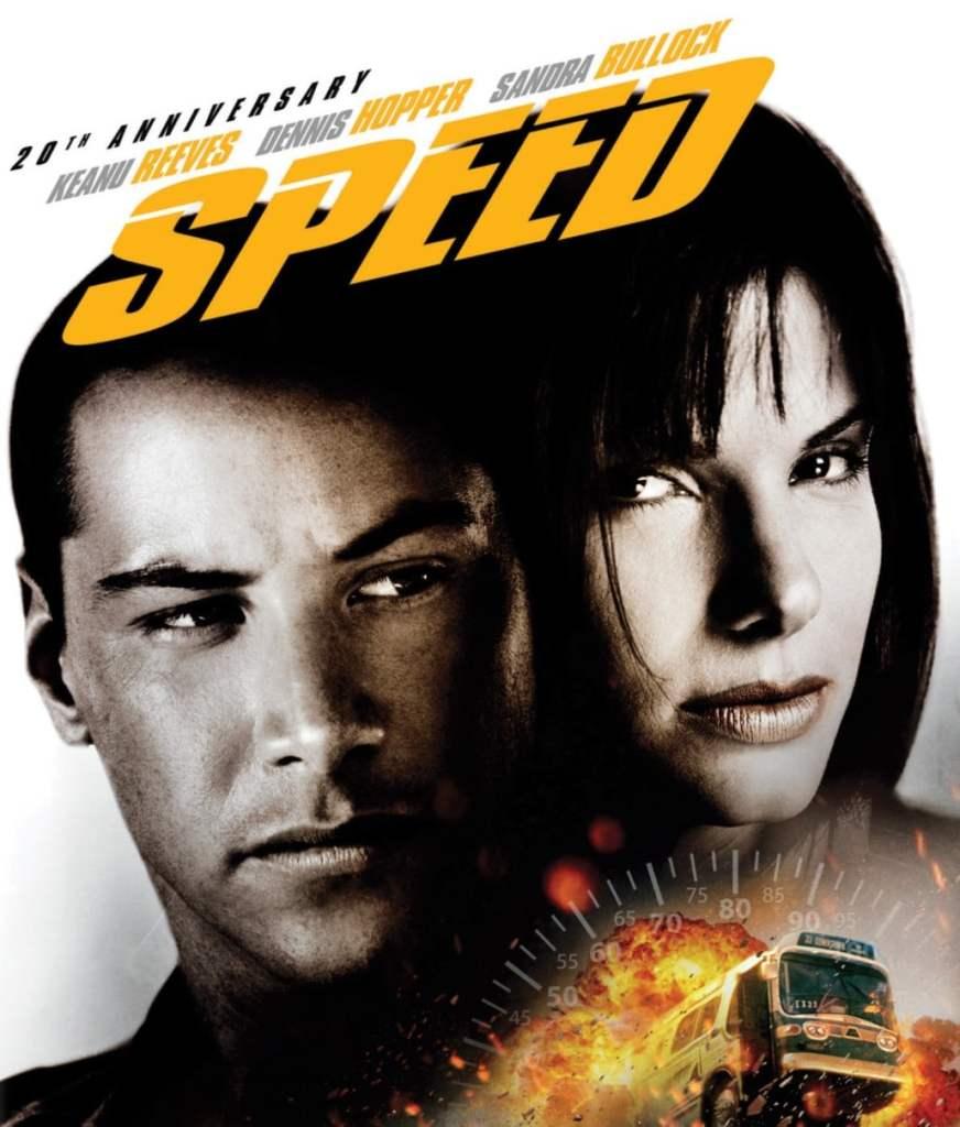 Cover blu-ray 20e anniversaire de Speed