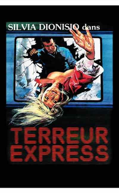 Terreur express, affiche française