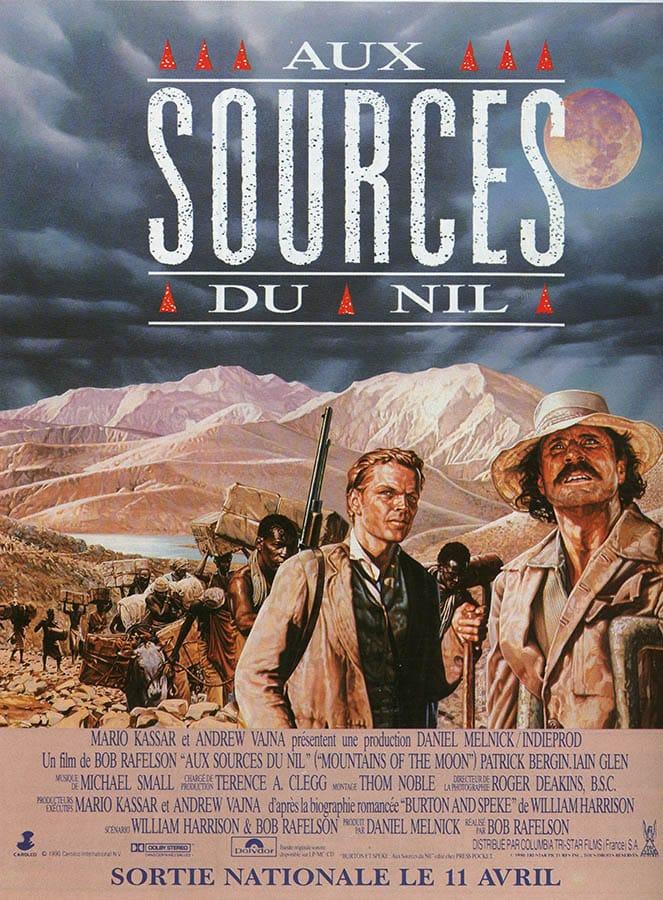 Aux Sources du Nil, 1990, un classique de Bob Raphelson, affiche-poster