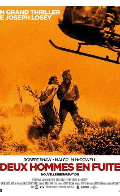 Deux hommes en fuite, l'affiche de la reprise