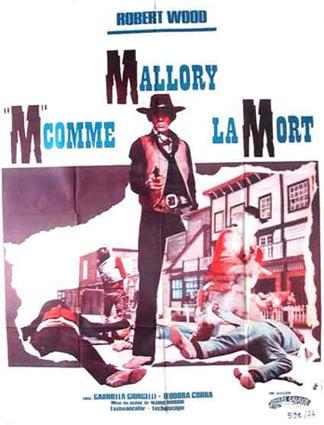 Mallory 'M' comme la mort, affiche