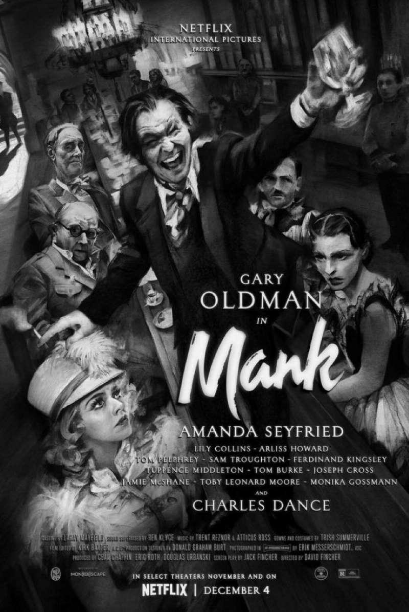 Mank, l'affiche