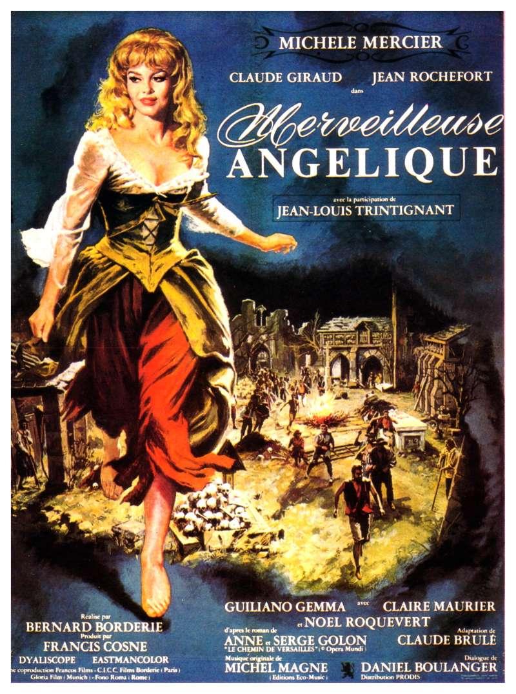 Merveilleuse Angélique, l'affiche