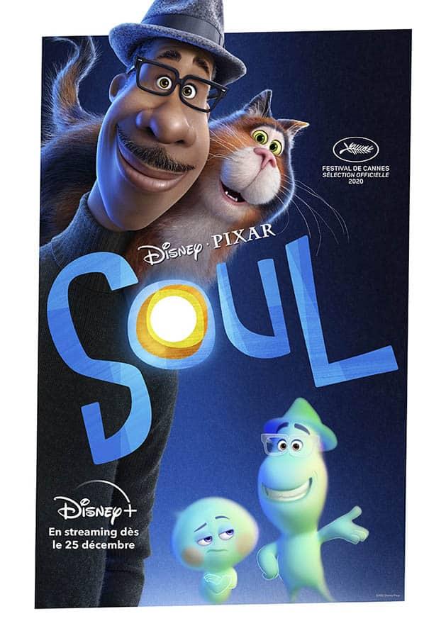 Soul, affiche Streaming sortie cinéma du 25 décembre 2020