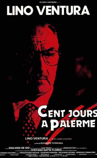 Cent jours à Palerme, affiche film 1094